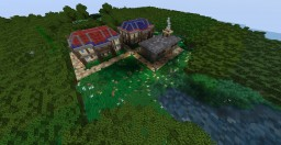 PixelmonMMO: Pallet Town and Route 1 Minecraft Map & Project