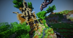 Steampunk Sky-PvP Spawn | FREE DOWNLOAD Minecraft Map & Project