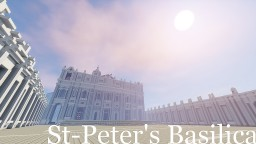 Basilica of Rome Minecraft Project