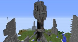 Stargate Atlantis buried in a lost world Minecraft Map & Project