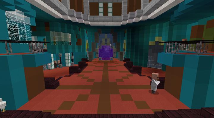 Gateroom with regular FOV