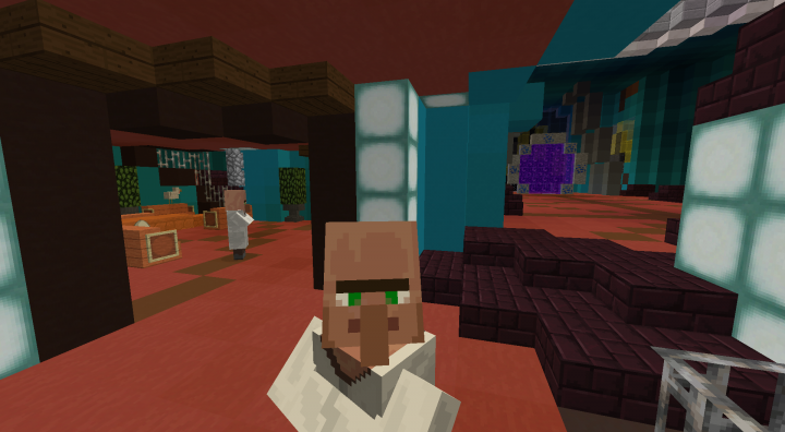 Gateroom and leisure area plus a lantean scientist!