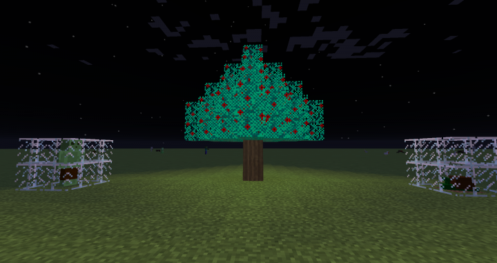Tree presented in the Slimy Biome!
