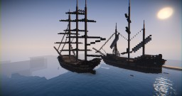 Tall Ships Minecraft Map & Project