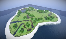 _-= * Island for Building Stuff * =-_ [By EinfachNurToni] Minecraft Project