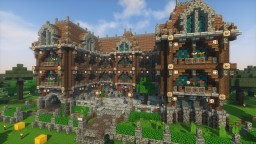 Baroque Style mansion Minecraft Map & Project