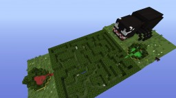 Spider garden maze Minecraft