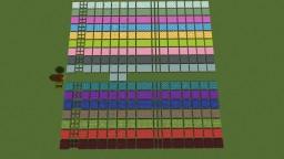 Glazed Terracota patterns Minecraft