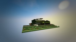 Steam train - A3 4472 Flying Scotsman Minecraft Map & Project