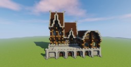 Sweet Medieval House Minecraft Map & Project