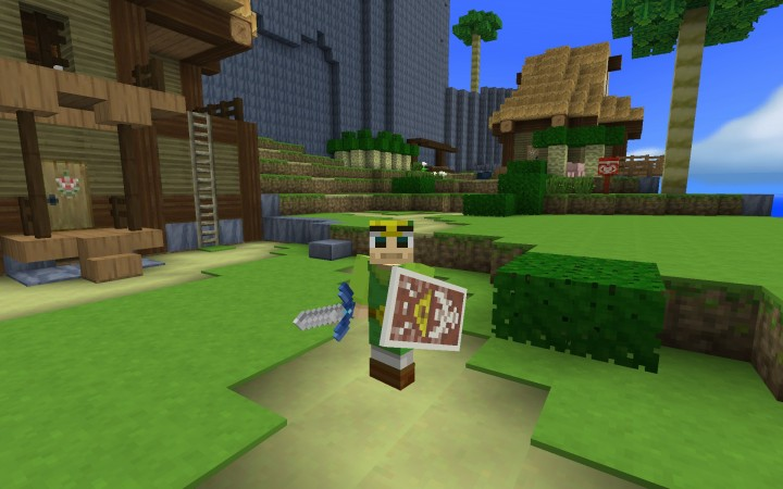 A folder of custom SKINS is also included in the resource pack folder!