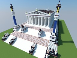 The Temple of Artemis at Ephesus Minecraft Project