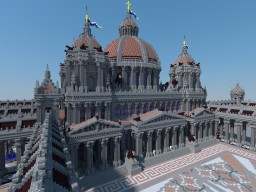 THE HYPERTHOLOS, ROMAN CATHEDRAL Minecraft Project