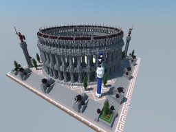ROMAN COLOSSEUM Minecraft Project