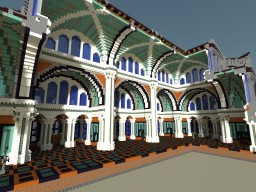 ROMAN BASILICA Minecraft Project