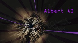 Albert AI - A Self-Learning Chatbot in Vanilla Minecraft Minecraft Map & Project