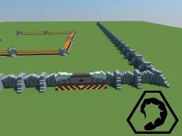 C&C TS Walls+Gate NOD Minecraft