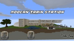 Modern train station Minecraft Map & Project