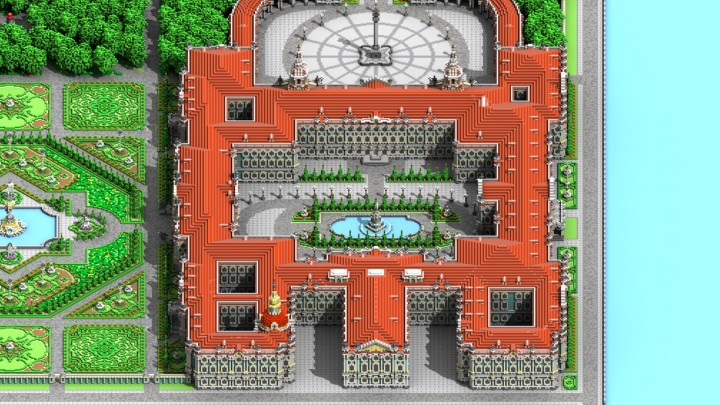 Winter Palace - Hermitage Minecraft Project