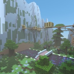 Valley Village Homestead Minecraft Project