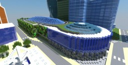 Central Core АФИМОЛЛ СИТИ - Modern Mall With Full Interior Minecraft Project