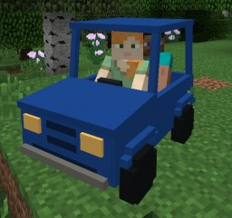 Personal Cars - have your own car in Minecraft!