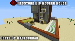 Redstone Big Modern House (1.11.2) Minecraft Project