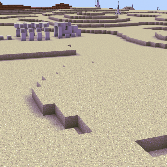 Explore the Dune Sea and find the Shulker Boxes!