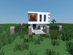 Small Modern House #1 Minecraft Project