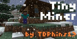 TinyMiner ⛏ 8x8 Resource Pack 1.11.2 (Pop-Reel) Minecraft