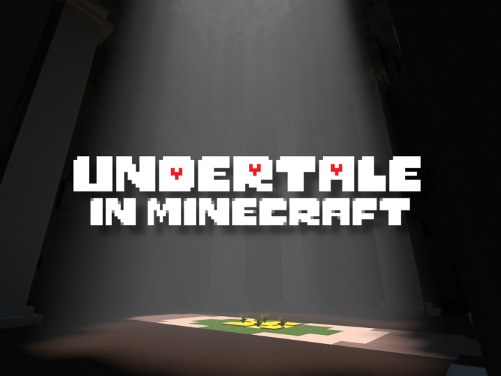 minecraft pe undertale map download
