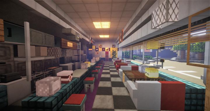 2nd Island Diner Interior