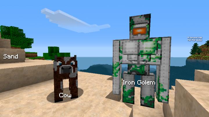 IronGolem  Cow
