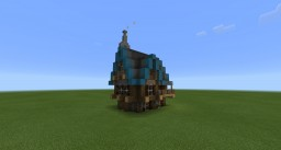 (PE/Win10) Steampunk House Minecraft Project
