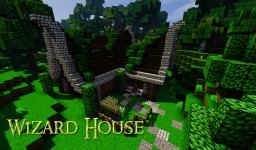 Wizard House Minecraft Map & Project