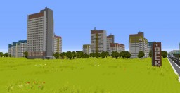 Soviet city 1995 Minecraft Project
