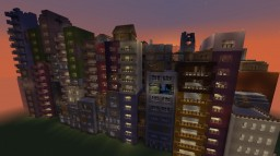 Kowloon Walled City project Minecraft Project