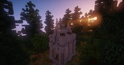 How to build your own gothic church Minecraft Map & Project