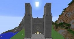 Orleans Cathedral of Sainte-Croix inspired Minecraft build Minecraft