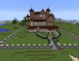 Great Starter Town Minecraft Project