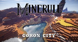 Minerule: Goron City Minecraft Map & Project