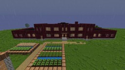 1920's/30's School Building Minecraft Map & Project