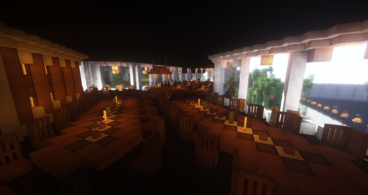 Department of trade minecraft project for Salle a manger minecraft