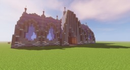 Fantasy Wall And Gate Housel Modular Schematics Minecraft Map & Project