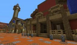 Purgatory Range - Wild West Spawn Minecraft Project