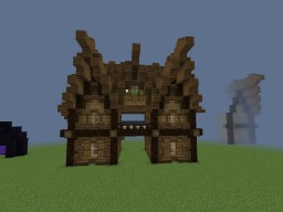 Mediun Medieval House #2 Minecraft Project