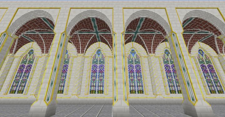 Aisle windows