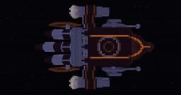Spaceship Redbird Minecraft
