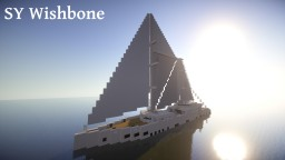 Sailing Yacht SY Wishbone Minecraft Map & Project