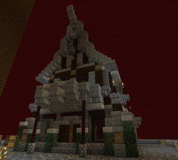 Nether House Minecraft Map & Project